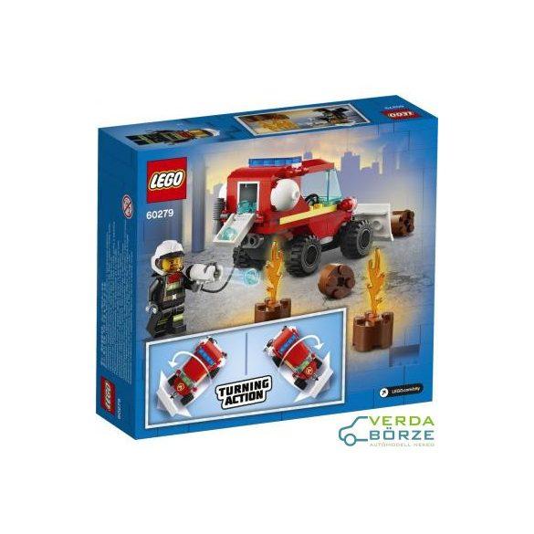 Lego City 60279 - Tűzoltóautó