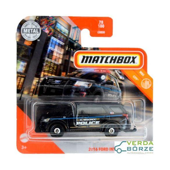 Matchbox Ford Interceptor