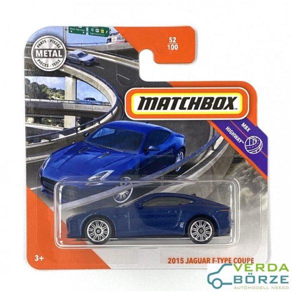 Matchbox Jaguar F-type Coupe 2015