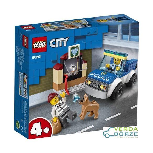 Lego City 60241 Kutyás Rendőri Egység
