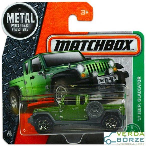 Matchbox Jeep Gladiator