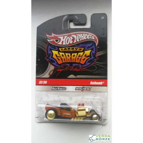 Hot Wheels Ratbomb Barna