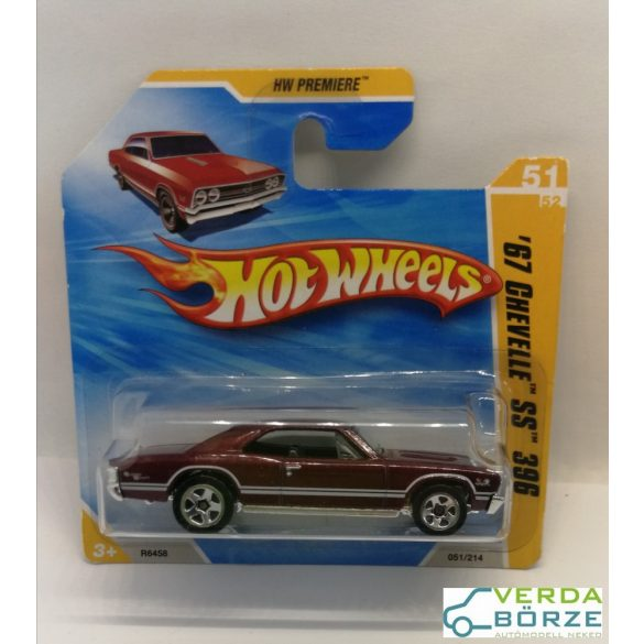 Hot wheels '67 Chevy Chevelle SS