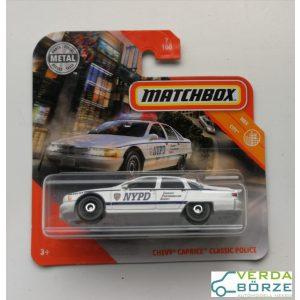 Matchbox Chevy Caprice Police