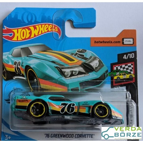 Hot wheels '76 Greenwood Corvette