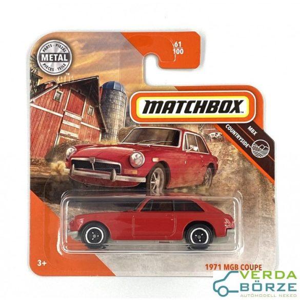 Matchbox MGB Coupe 1971