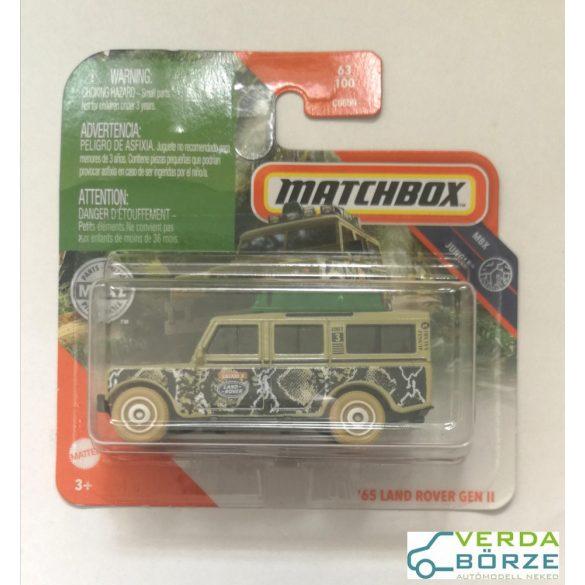 Matchbox Land Rover
