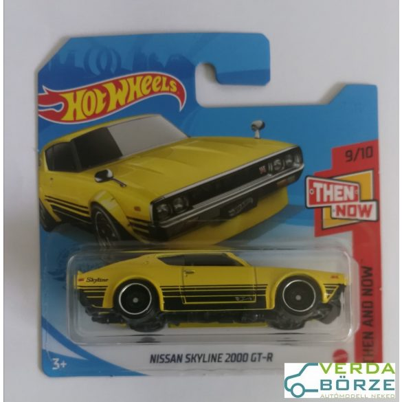 Hot Wheels Nissan Skyline 2000 GT-R