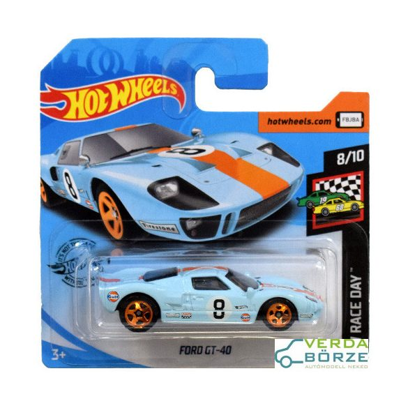 Hot wheels Ford GT 40