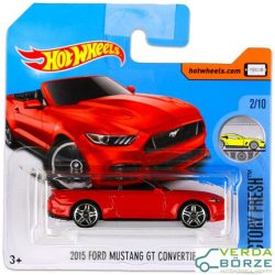 Hot Wheels Ford Mustang GT Cabrio
