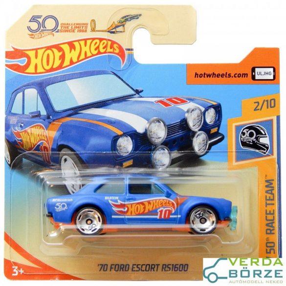 Hot Wheels Ford Escort RS1600