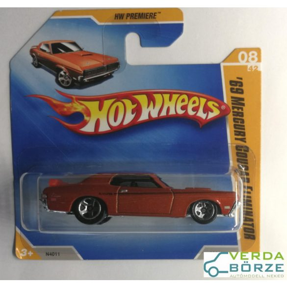 Hot Wheels '69 Mercury Cougar