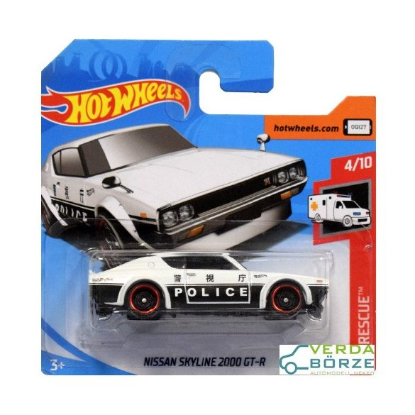 Hot Wheels Skyline 2000 GT-R